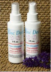 Desodorante oxido de zinc spray Dr. Clark