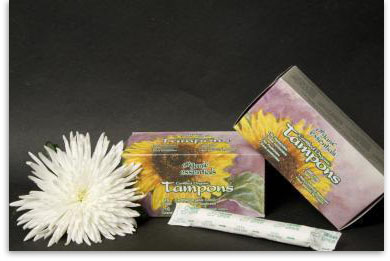Tampons organic essentials Dr. Clark