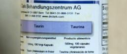 Taurina en capsulas terapia clark productos clark doctora hulda clark